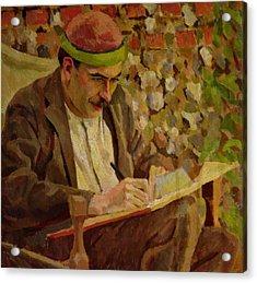 Portrait Of John Maynard Keynes Acrylic Print by Roger Eliot Fry