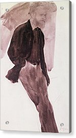 Portrait Of Manet Acrylic Print by Edgar Degas