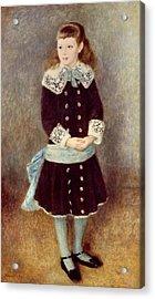 Portrait Of Martha Berard Acrylic Print by Pierre-Auguste Renoir