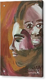 Ptg   Portrait Of Teenagers Acrylic Print by Judy Via-Wolff
