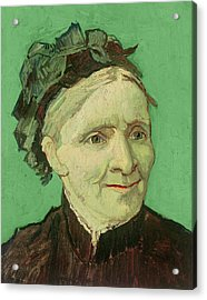 Portrait Of The Artist's Mother Acrylic Print by Vincent van Gogh