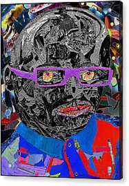 Portraiture Of Passion V3 Acrylic Print by Kenneth James