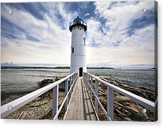 Portsmouth Harbor Lighthouse Acrylic Print by Eric Gendron