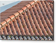 Portugal, Lisbon, Red Tile Roof Acrylic Print by Jim Engelbrecht