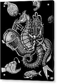 Poseidon Acrylic Print by Vitaliy Gonikman