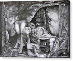 Post-apocalypse - Day Two Acrylic Print by Otto Rapp