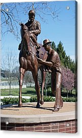 Post Time Acrylic Print by Roger Potts