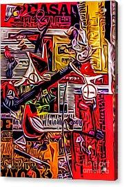 Poster 5 Acrylic Print by Robert Daniels