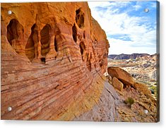 Pothole Colors Acrylic Print by Ray Mathis