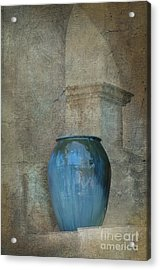 Pottery And Archways II Acrylic Print by Sandra Bronstein