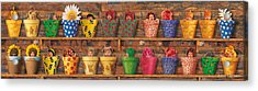 Potting Shed Acrylic Print by Anne Geddes