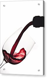 Pouring A Drink Acrylic Print by Andrew Soundarajan