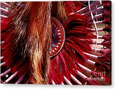 Pow-wow Costume Acrylic Print by Paul W Faust -  Impressions of Light