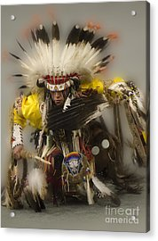 Pow Wow Days Of Thunder   Acrylic Print by Bob Christopher