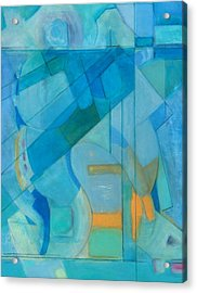 Power Grid Remastered Acrylic Print by Danielle Nelisse