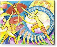 Power Of The Dance - Family Acrylic Print by Mark Stankiewicz