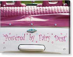 Powered By Fairy Dust Acrylic Print by Tim Gainey