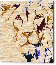Powerful Wildlife Tiger Acrylic Print by Marvin Blaine