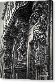 Prague Caryatids Acrylic Print by Gregory Dyer