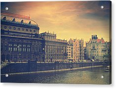 Prague Days Acrylic Print by Taylan Soyturk