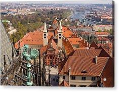 Prague View Acrylic Print by Iryna Soltyska
