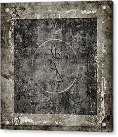 Prayer Flag 207 Acrylic Print by Carol Leigh