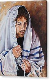 Prayer For Israel Acrylic Print by Ilse Kleyn
