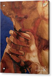 Prayer Acrylic Print by Graham Dean