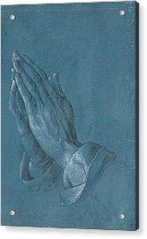 Praying Hands Acrylic Print by Albrecht Durer