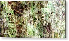 Precipice - Abstract Art Acrylic Print by Jaison Cianelli