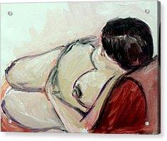 Pregnant01 Acrylic Print by Tali Farchi