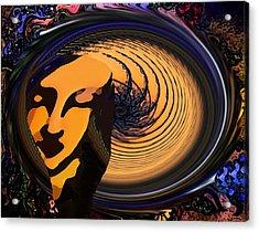Preoccupied Acrylic Print by Bruce Iorio