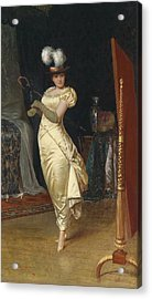 Preparing For The Ball Acrylic Print by Frederick Soulacroix