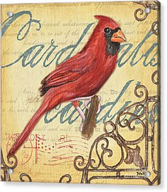 Pretty Bird 1 Acrylic Print by Debbie DeWitt