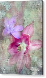 Pretty Flowers Acrylic Print by Annie Snel