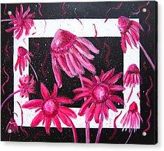 Pretty In Pink 2 Acrylic Print by Marita McVeigh