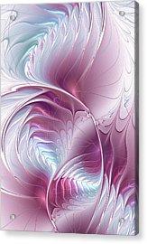 Pretty In Pink Acrylic Print by Anastasiya Malakhova