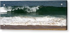 Pretty Wave Acrylic Print by Eunice Miller