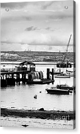 Priddy's Hard Boats Acrylic Print by Terri Waters