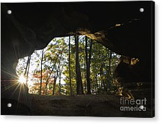 Princess Arch Starburst - D003133 Acrylic Print by Daniel Dempster
