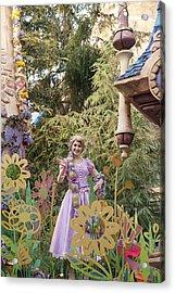Princess Acrylic Print by Malania Hammer