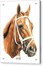 Princess Of Sylmar Acrylic Print by Pat DeLong