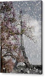 Printemps Parisienne Acrylic Print by Joachim G Pinkawa