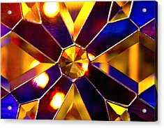 Prism Glass Spectrum Acrylic Print by Karon Melillo DeVega