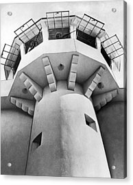 Prison Guard Tower Acrylic Print by Underwood Archives