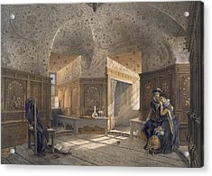 Prison Of King Erik Xiv, Son Of Gustav I Acrylic Print by Karl Johann Billmark