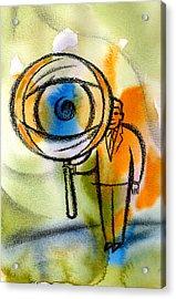 Privacy Acrylic Print by Leon Zernitsky