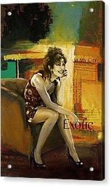 Priyanka Chopra Acrylic Print by Corporate Art Task Force