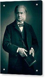 Professor Thomas H Huxley Acrylic Print by Stanislaus Walery