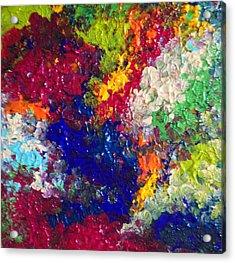 Profusion 3 Acrylic Print by Anna Villarreal Garbis